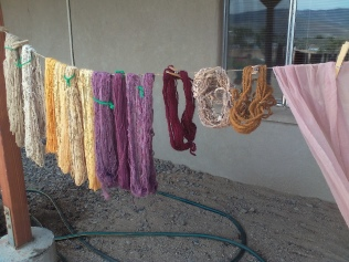 Dyeing at Judi's